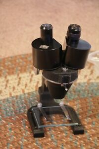 Reconditioned Vintage Spencer Stereo Microscope 25x And 51x works Great