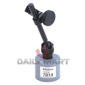 New In Box Mitutoyo 7014 Mini Magnetic Stand For Dial Test Indicators