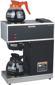 Bunn 33200 0015 Vpr 2gd 12 cup Pour Over Commercial Coffee Maker