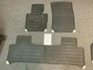 2003 2013 Land Rover Range Rover L322 All Weather Rubber Floor Mats 4 pcs