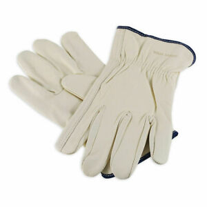 Wells Lamont 100 Grain Cowhide Leather Work Gloves s m l xl Sizes Available