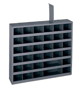 Bin Metal Cabinet 36 Hole Storage Bolt Compartment Nuts Fasteners Screws Parts