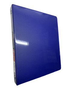 Proffice 3 Ring Binder Holds Up To 100 Sheets Two Inside Pockets Navy