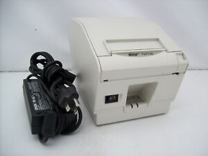 Star Tsp700 Thermal Pos Receipt Printer Usb Tsp743 With Power Supply Tested