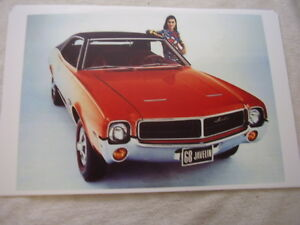 1968 Amc Rambler Javelin Color 11 X 17 Photo Picture