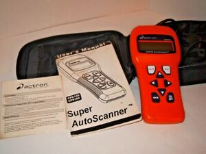 Actron Cp9145 Obd 2 Diagnostic Code Reader Scanner for Parts not Working