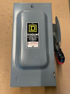 H322n Square D Safety Switch 60a 240v N1 F