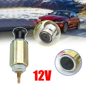 Dc 12v Auto Car Cigarette Lighter Replacement Plug Socket Assembly Full Set