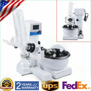 2l Lab Rotary Evaporator Adjustable Rotavapor Digital Water Bath Condenser