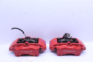 2005 2012 Porsche 911 997 S Front Brake Calipers Brembo Right Left Pair Set Red