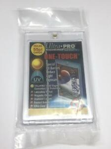 1 Ultra pro One touch Magnetic 55pt Uv Protected Card Holders As Picture In