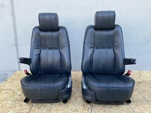 Range Rover Hse L322 Oem 10 12 Front Seat Seats Heated Cooling Dvd Screen Set
