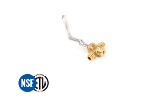 Replacement Control Valve And Aluminum Handle For Chinese Wok Range Wr gv