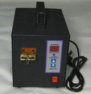 220v 110v Micro Spot Welding Machine Battery Spot Welder Dual Pulse Bi