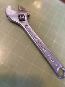 Craftsman made In Usa 8 Adjustable Wrench 44603 Usa Seller