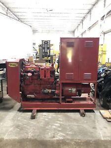 Warner Swasey Generator Continental Engine Runs Well Electrical Needs Work