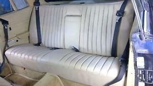 1980 Mercedes Benz 450slc Rear Seat Assembly Tan Re Dyed Oem