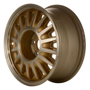 03126 Refinished Lincoln Town Car 1995 1997 16 Inch Wheel Rim Machined W Gold