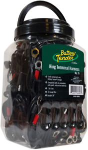 Battery Tender Ring Terminal Accessory Cable Jar Of 25