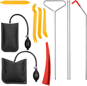 Automotive Car Tool Kit With Easy Entry Truck Long Reach Grabber Air Wedge