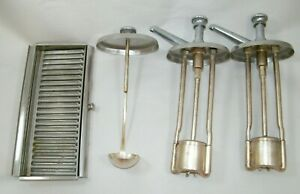 Soda Fountain Dispensers Pumps And Ladle Plus Drawer