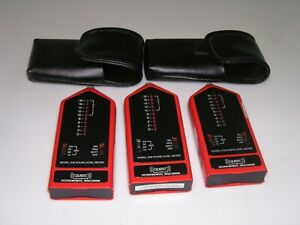 3 Quest 208 Sound Level Meters 2 With Cases