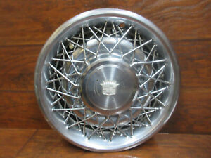 Cadillac Deville Fleetwood 1978 1979 1980 1981 15 Inch Factory Wire Hubcap
