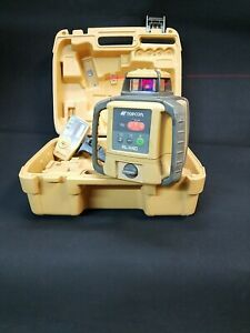 Topcon Rl h4c Db Rotary Laser Level With Ls 80b Receiver 81