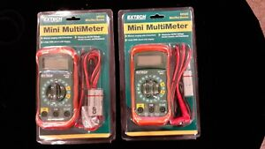2 mini Multimeter Mn25 Ac Dc Voltage Large 2000 Count Lcd Display