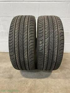 2x P225 40r18 Continental Procontact Tx Ao 8 32 Used Tires