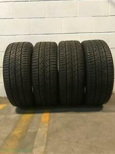 4x P215 55r17 Continental Truecontact Tour Eco 8 32 Used Tires