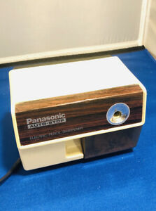 Vintage Panasonic Electric Pencil Sharpener Kp 110 Japan Made Auto stop Tested