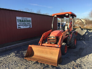 2016 Kubota B26 4x4 Hydro Compact Tractor Loader Backhoe Only 1100 Hours