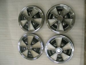 1965 1965 Corvair Nos 13 Mag Wheel Cover Hubcaps set Of 4