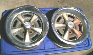 Pontiac Rally Ii Wheels 15x7 Jj S223 O223 Loc 167 83b
