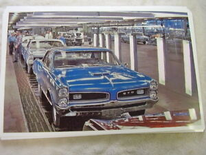 1967 Pontiac Gto On Assembly Line In Color 11 X 17 Photo Picture