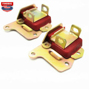 Pair Polyurethane Motor Mounts Engine For Small Big Block Chevy Sbc Bbc 350 454