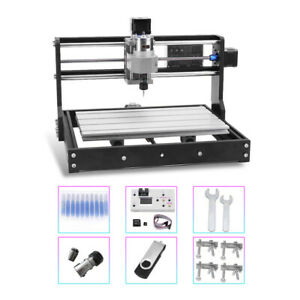3018 Cnc Machine Mini Router 3 Axis Engraving Pcb Wood Carving Diy Milling Usa