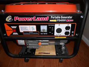 Powerland Pd4000 Gas Powered Portable Generator Local Pickup Only