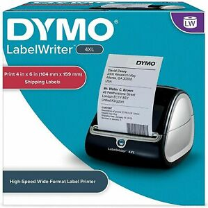 Dymo Labelwriter 4xl Wide Format Label Printer Free Shipping