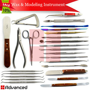 Dental Laboratory Waxing Instruments Lab Technician Mixing Modeling Carvers Ce