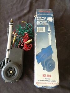 Afco Universal Car truck Fully Automatic Retractable Power Am fm Radio Antenna