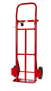 New Milwaukee 600 Lb Cap 2 in 1 Convertible Hand Truck Trolley Moving Dolly Cart