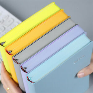 Thick Leather Journal A5 Notebook Lined Paper Writing Diary Planner 400 Pages