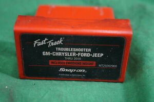 Snap On Mt25002900 Troubleshooter Cartridge Gm Chrysler Ford Jeep Thru 2000