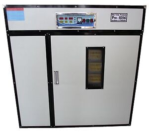 Rite Farm Products Pro 1056 Cabinet Incubator Hatcher 1056 Chicken Egg Capacit