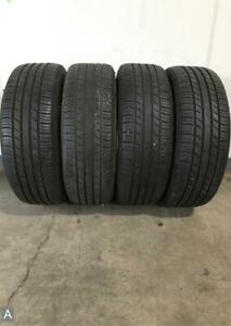 4x P215 55r17 Michelin Premier As 7 8 32 Used Tires