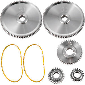 Vevor 5pcs Metal Lathe Gears Change Gear For Mini Lathes And Milling Machines
