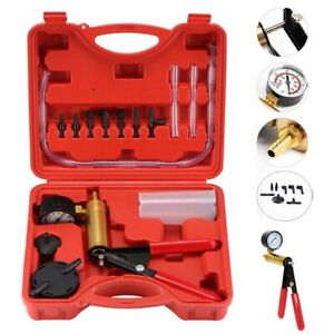 2 In 1 Brake Bleeder Vacuum Pump Gauge Test Tuner Kit Tools Diy Hand Tools Us