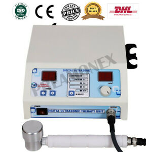 Professional Ultrasound Ultrasonic Therapy Machine Pain Relief 1mhz 3mhz Dhl